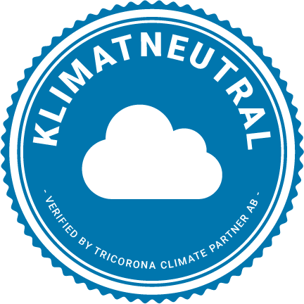 Klimatneutral logga